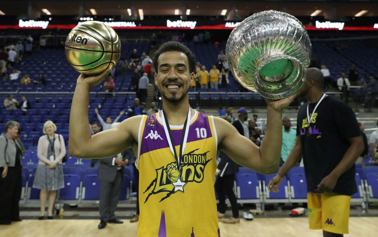 London Lions are crowned champions of the opening Betway All Stars Basketball!