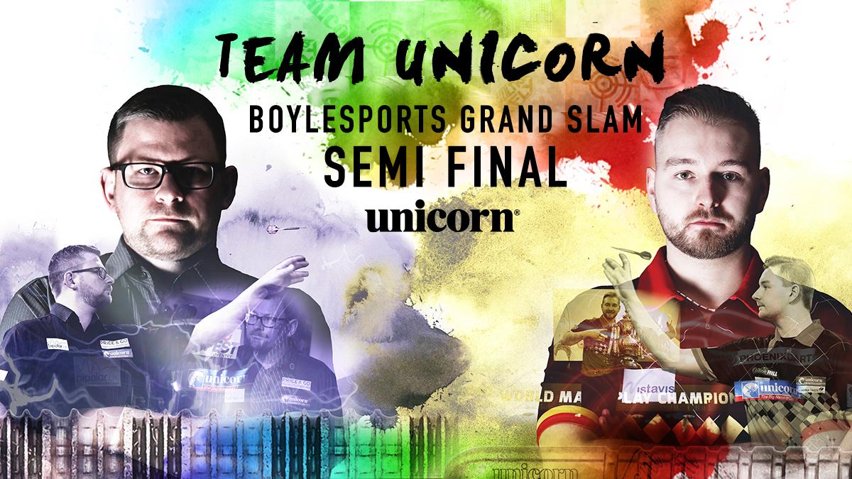 Wade & Van den Bergh set for Grand Slam showdown!