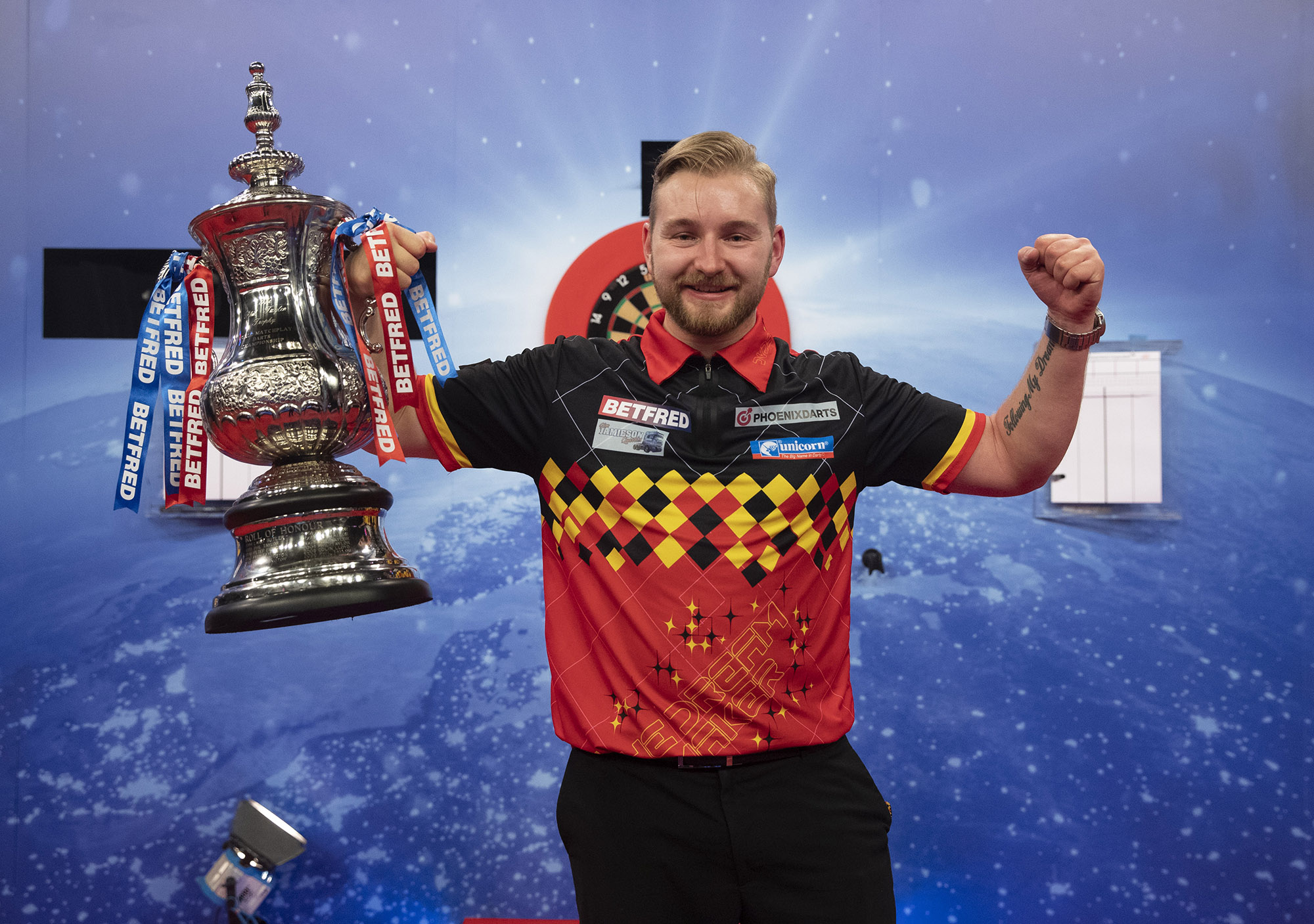 Incredible Dimitri crowned World Matchplay Champion!
