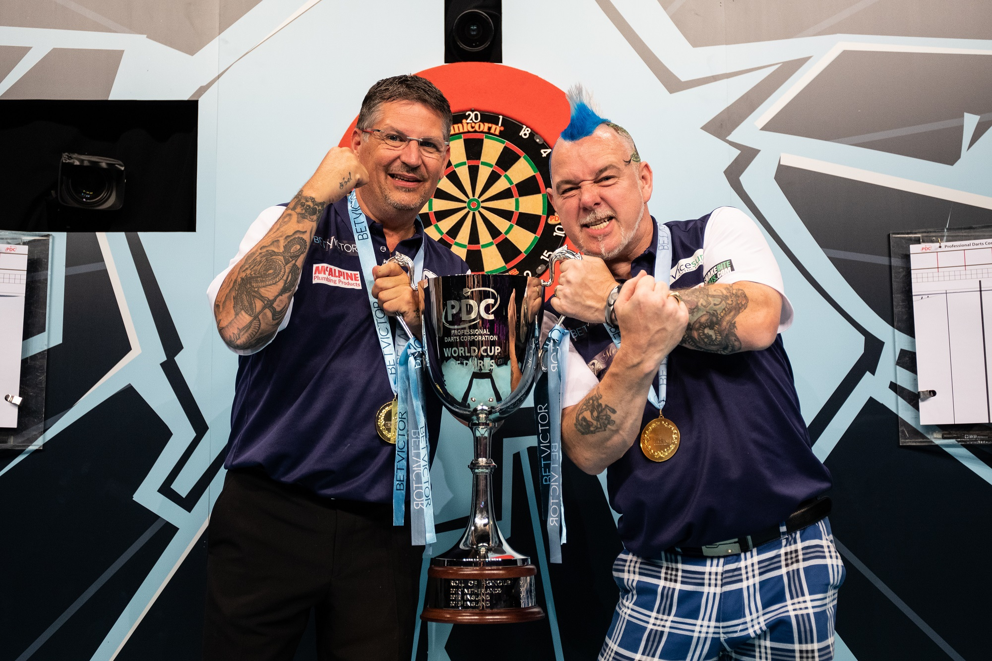World Cup glory for Gary and Scotland