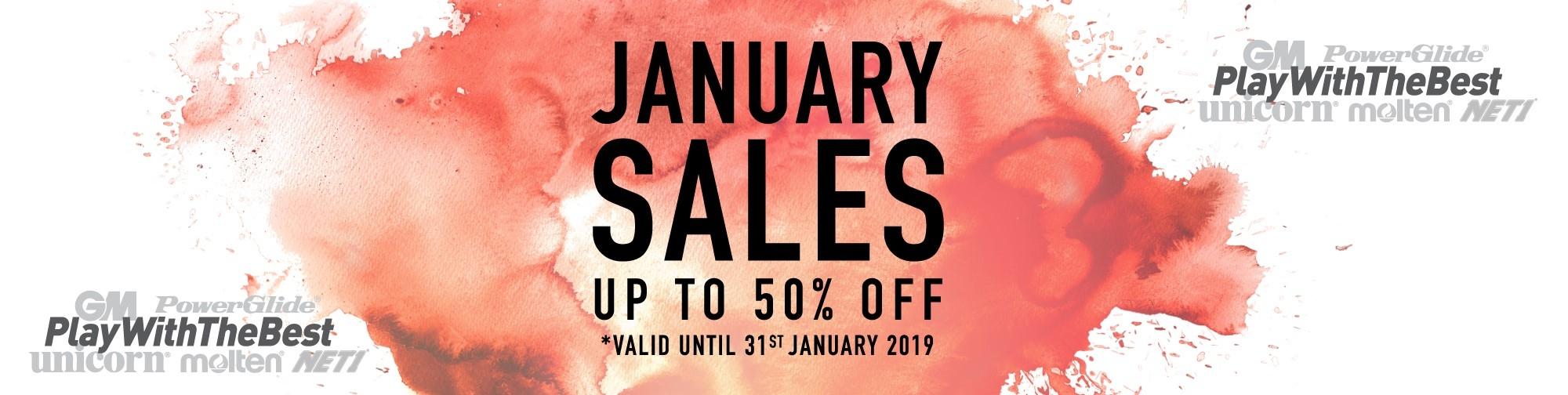 Molten January Sales