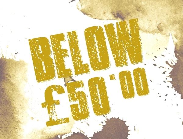 Below £50