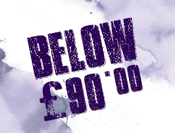 Below £90