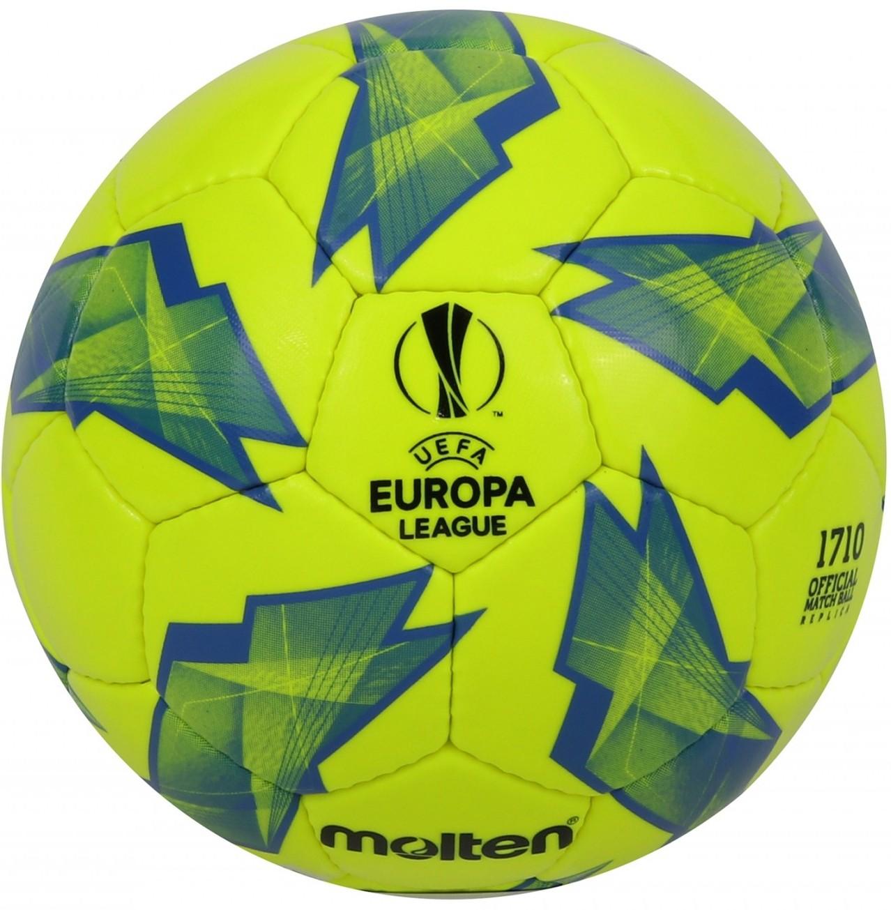 Official Match ball Replica of the UEFA Europa League – 1710 Model Yellow/Blue