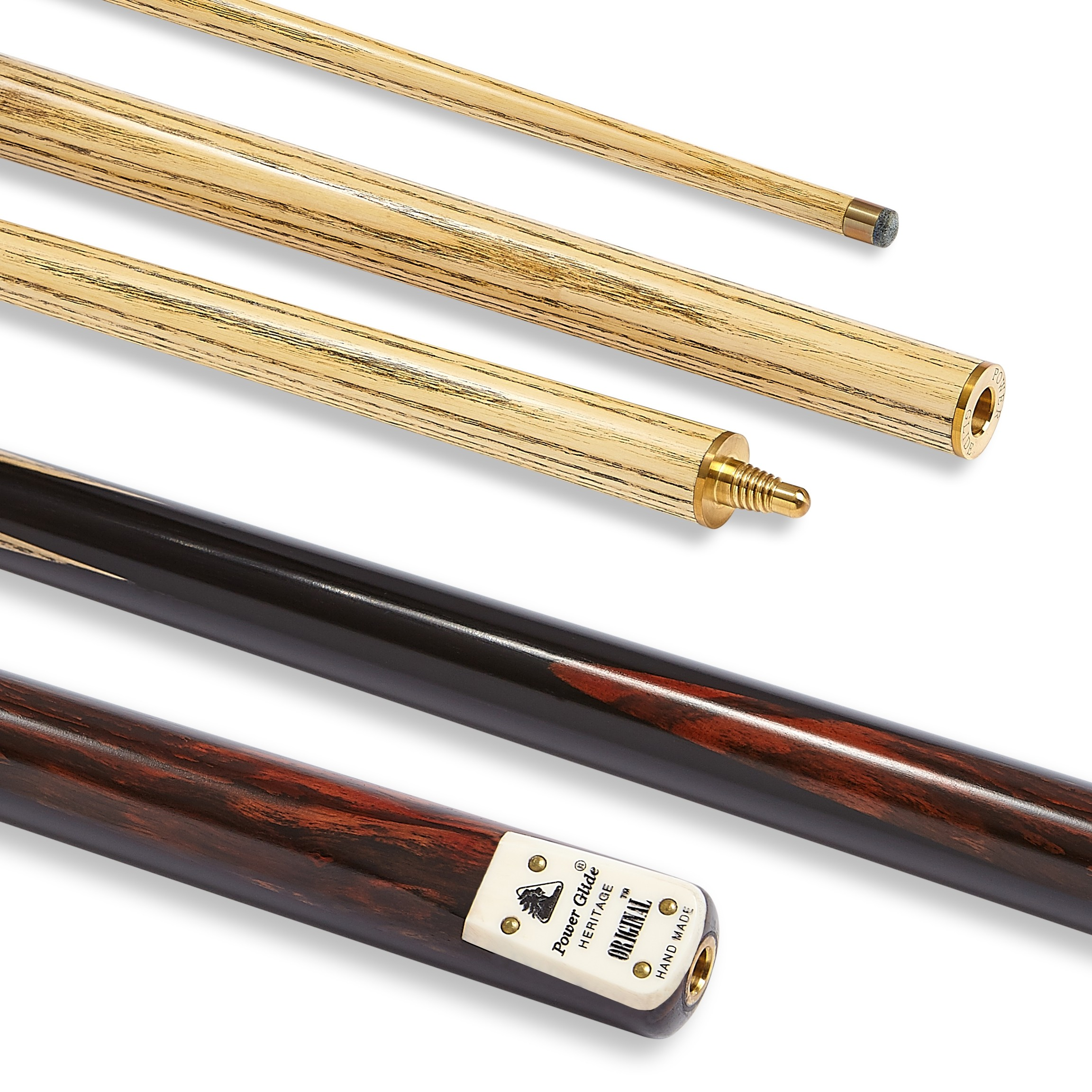 Original Snooker Cue 2 Piece 9.5mm Tip