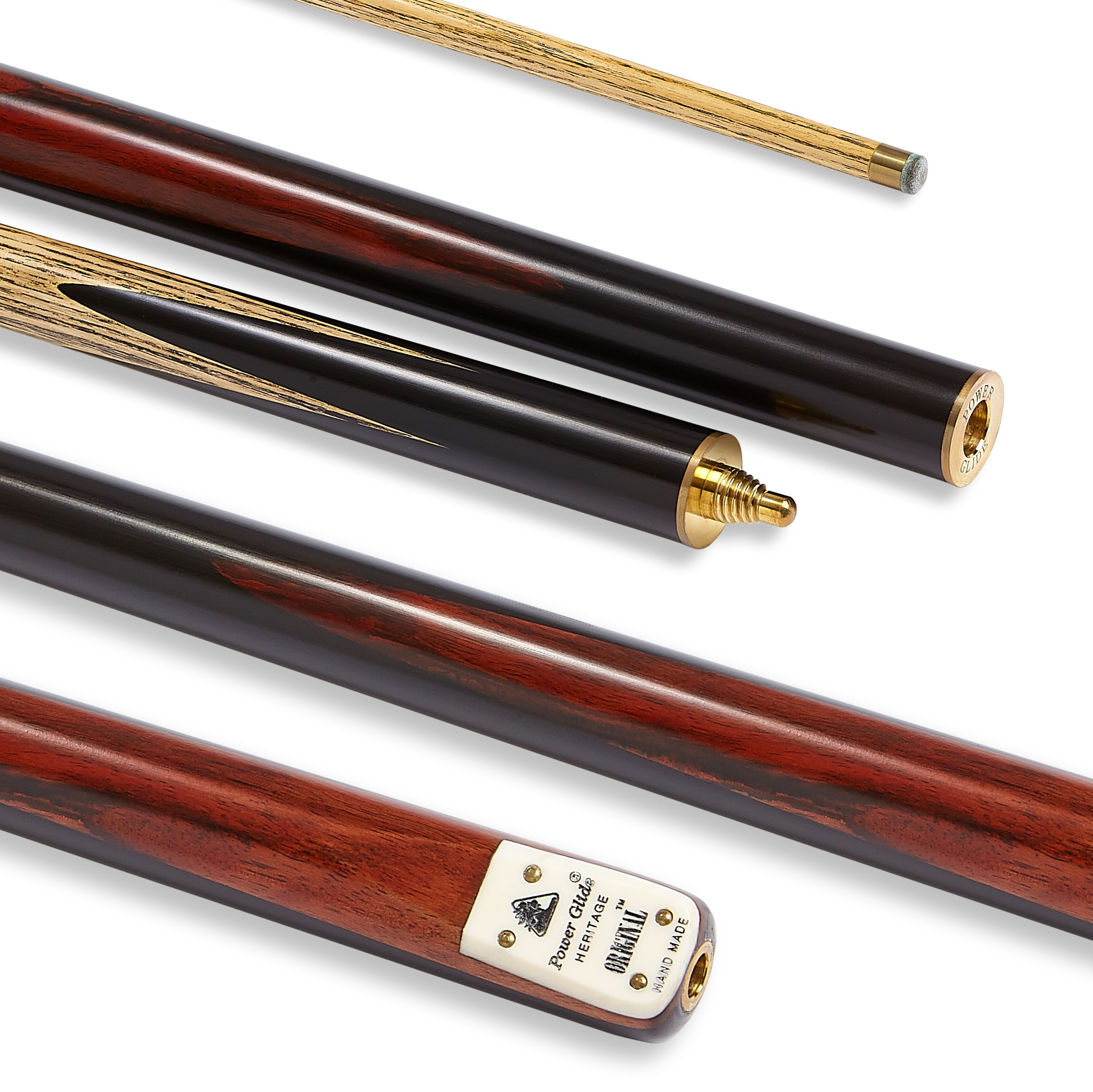 Original Snooker Cue 3/4 Split 9.5mm Tip