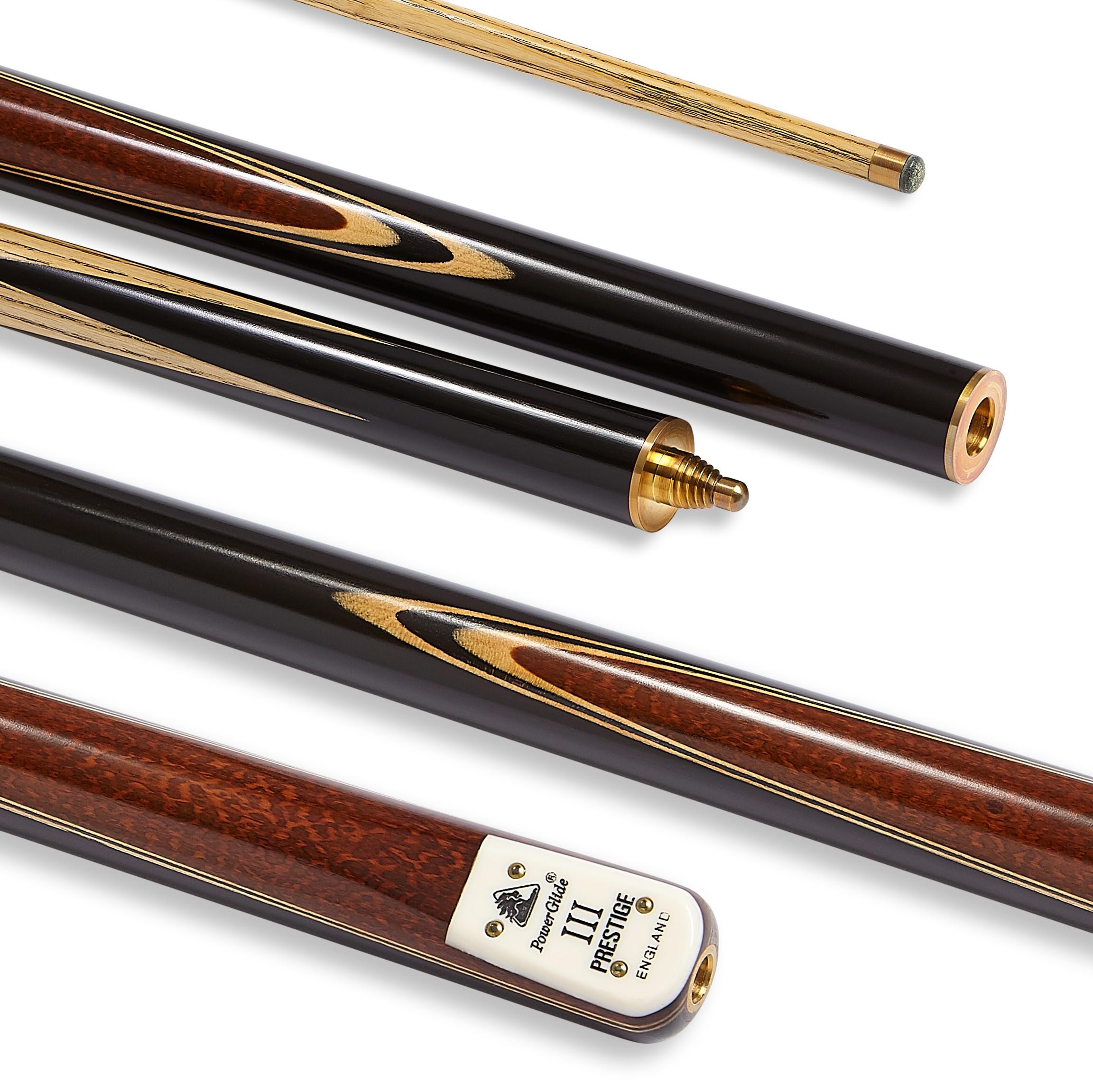 Prestige III Snooker Cue 3/4 Split 9.5mm Tip