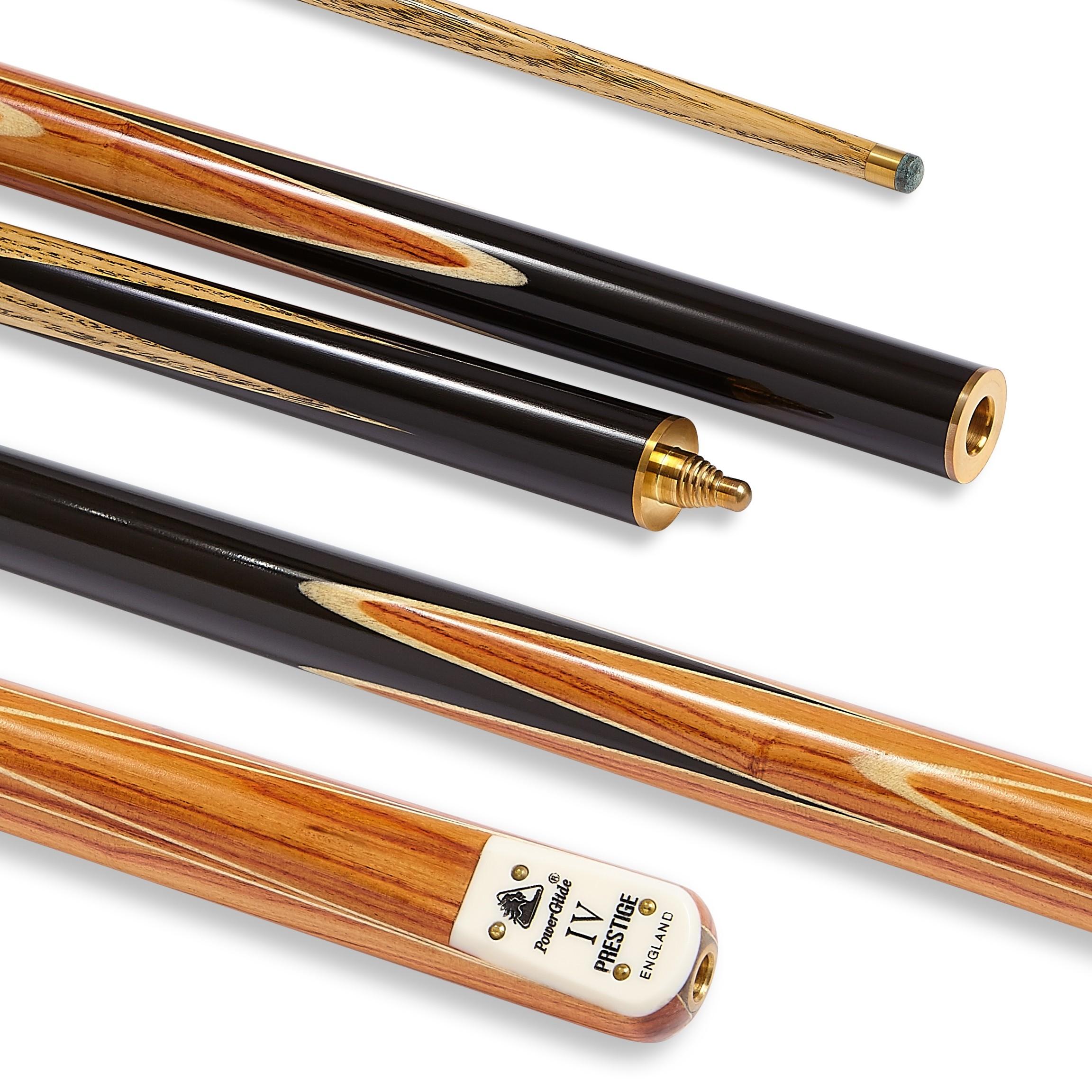 Prestige IV Snooker Cue 3/4 Joint 9.5mm Tip