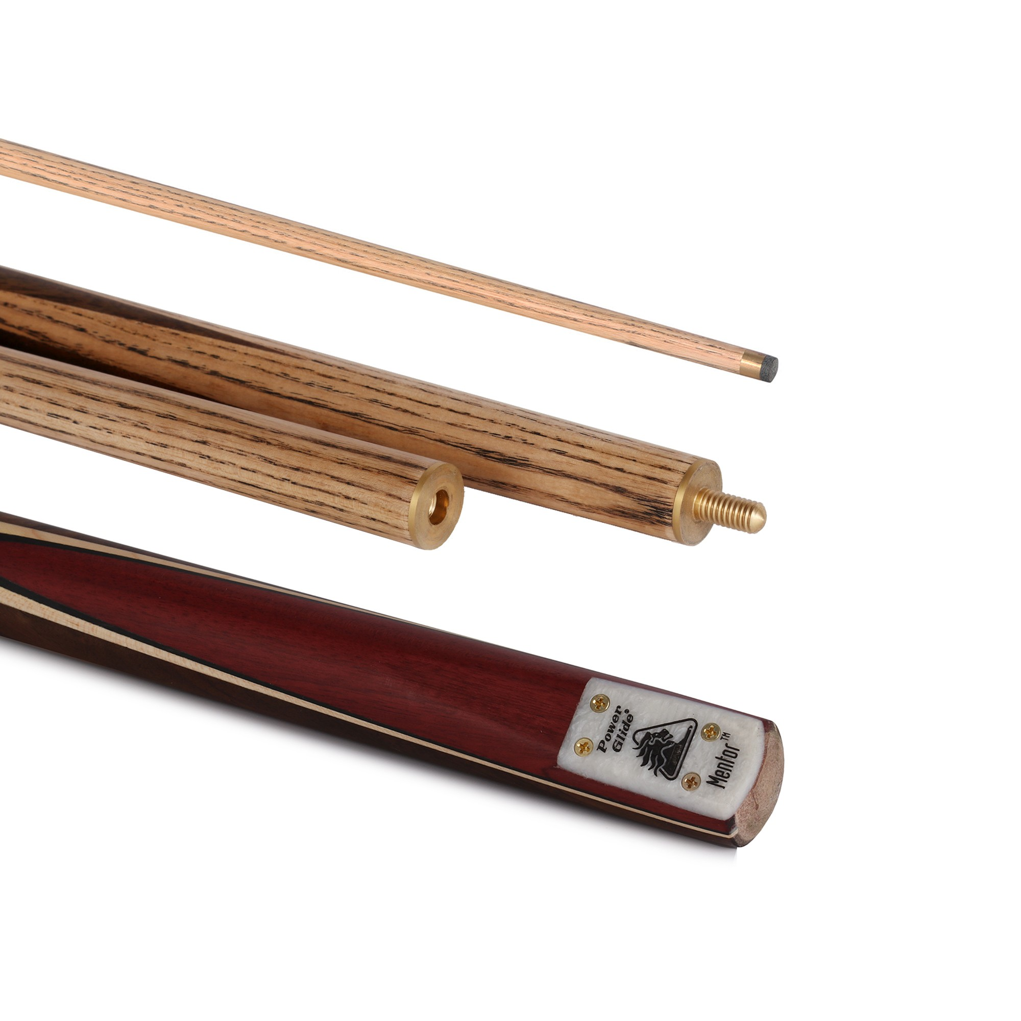 "Mentor English 55"" 3 Piece Pool Cue 8.5mm Tip"