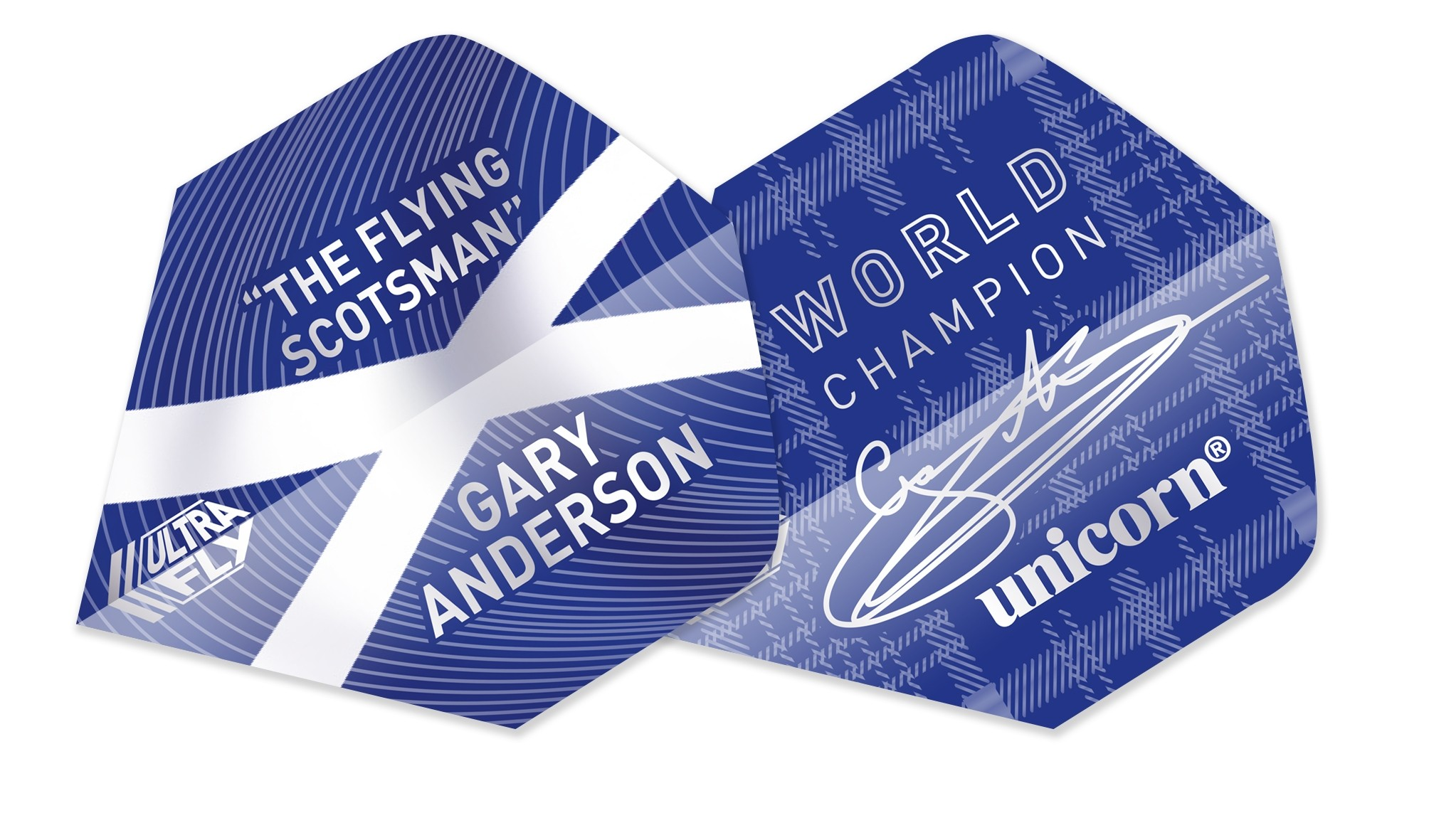 Ultrafly Flights - Gary Anderson World Champion