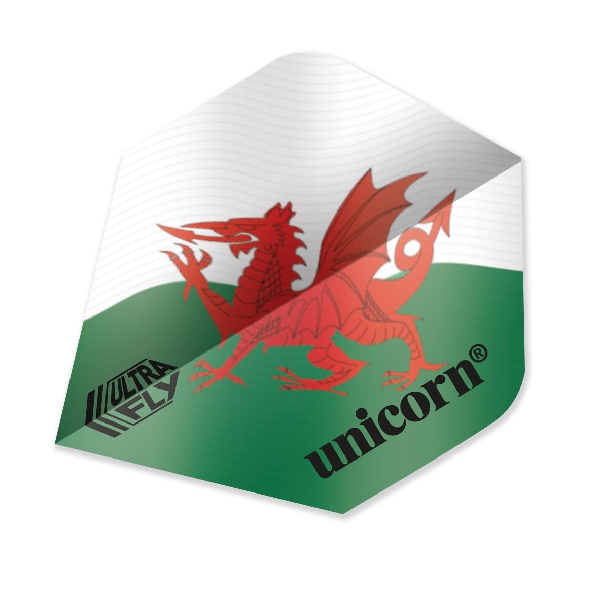 Ultrafly Wales Flag Plus Flight
