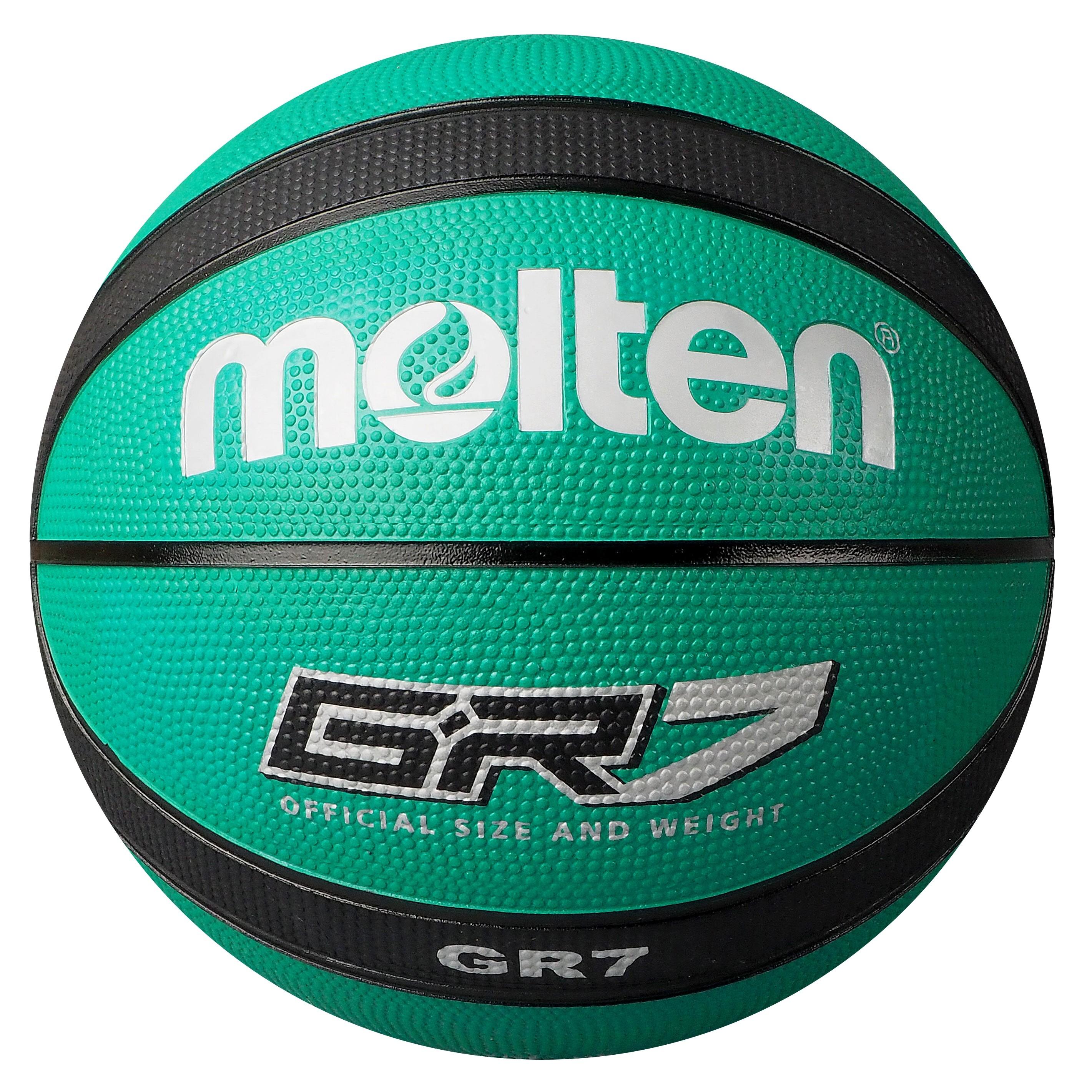 Molten BGR-GK Green Black Basketball BGR7-GK BGR6-GK BGR5-GK Main Front Image
