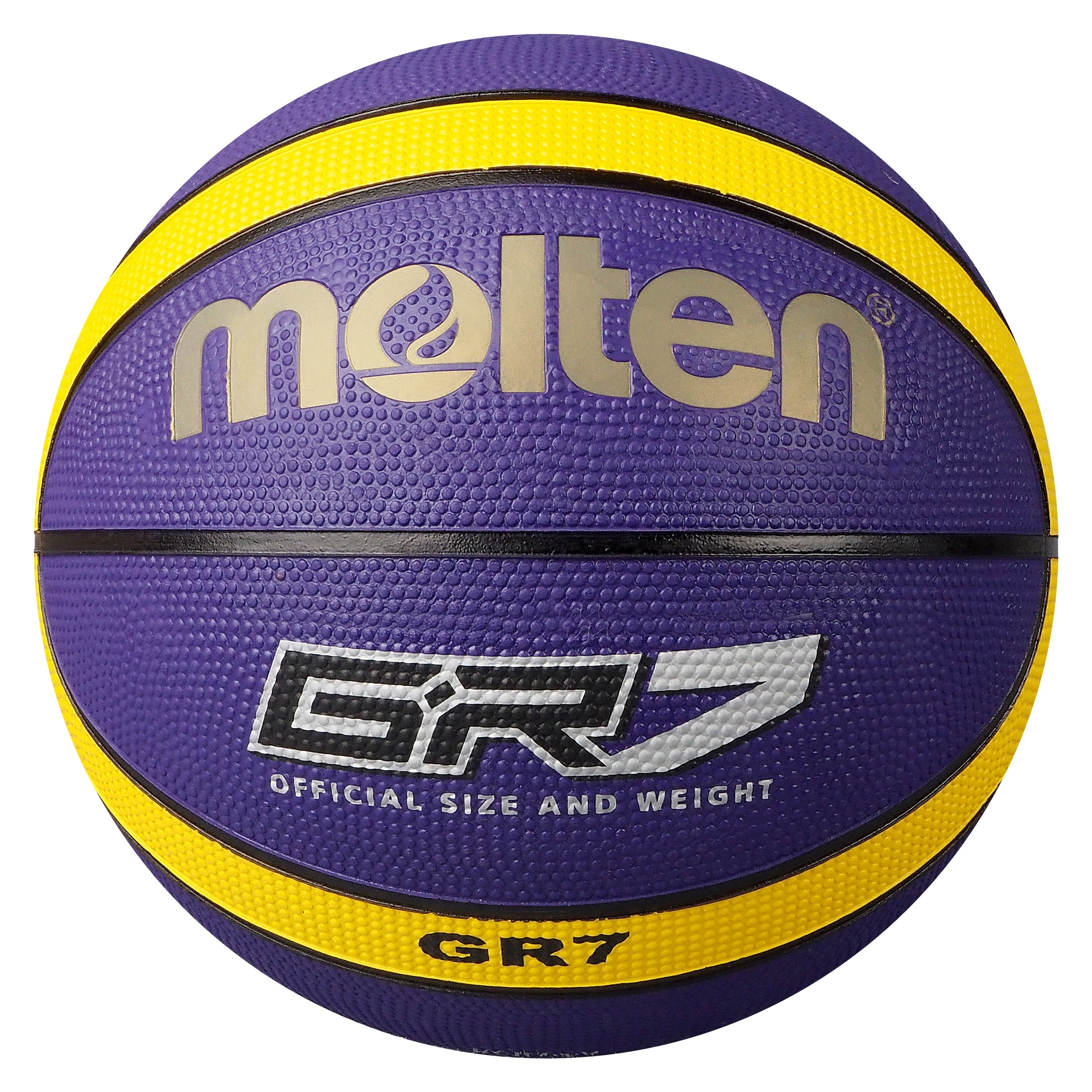 Molten BGR-VY Purple Yellow Basketball BGR7-VY BGR6-VY Main Front Image