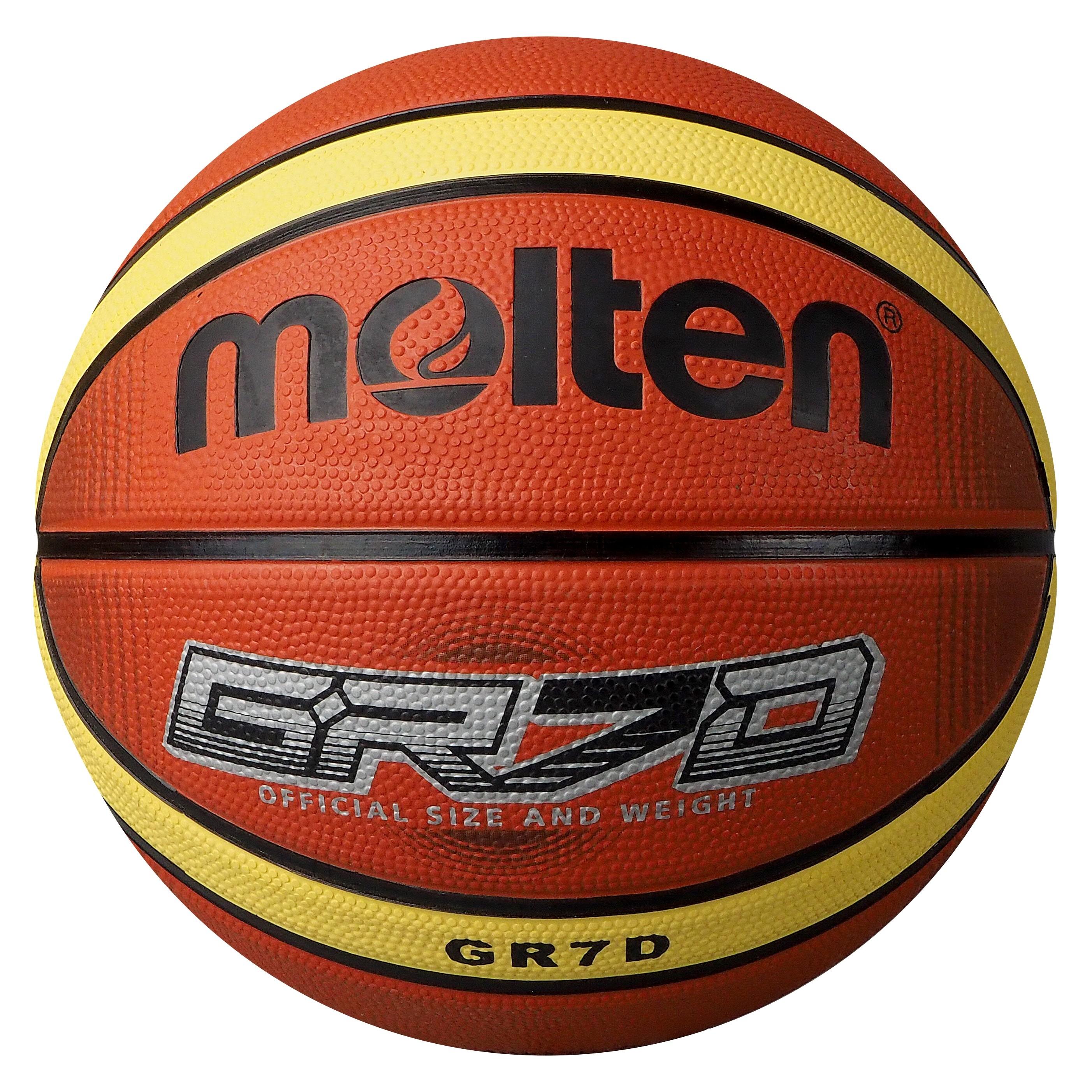 Molten BGRXD-TI Basketball BGRX7D-TI BGRX6D-TI BGRX5D-TI Main Front Image