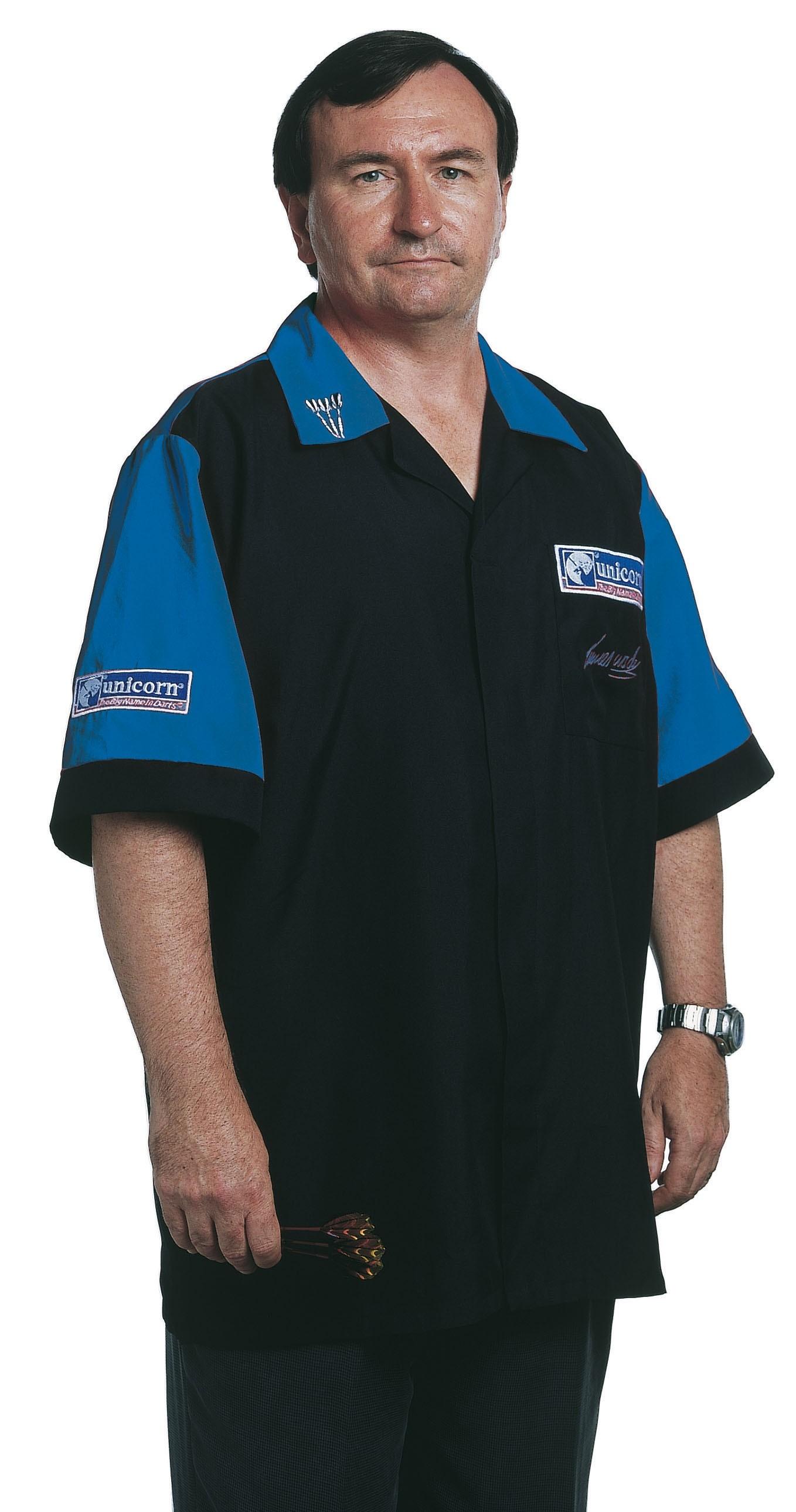 Mens Dart Shirt Black/Blue - SAVE £22!