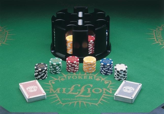 Casino Quality 200 Chip Carousel