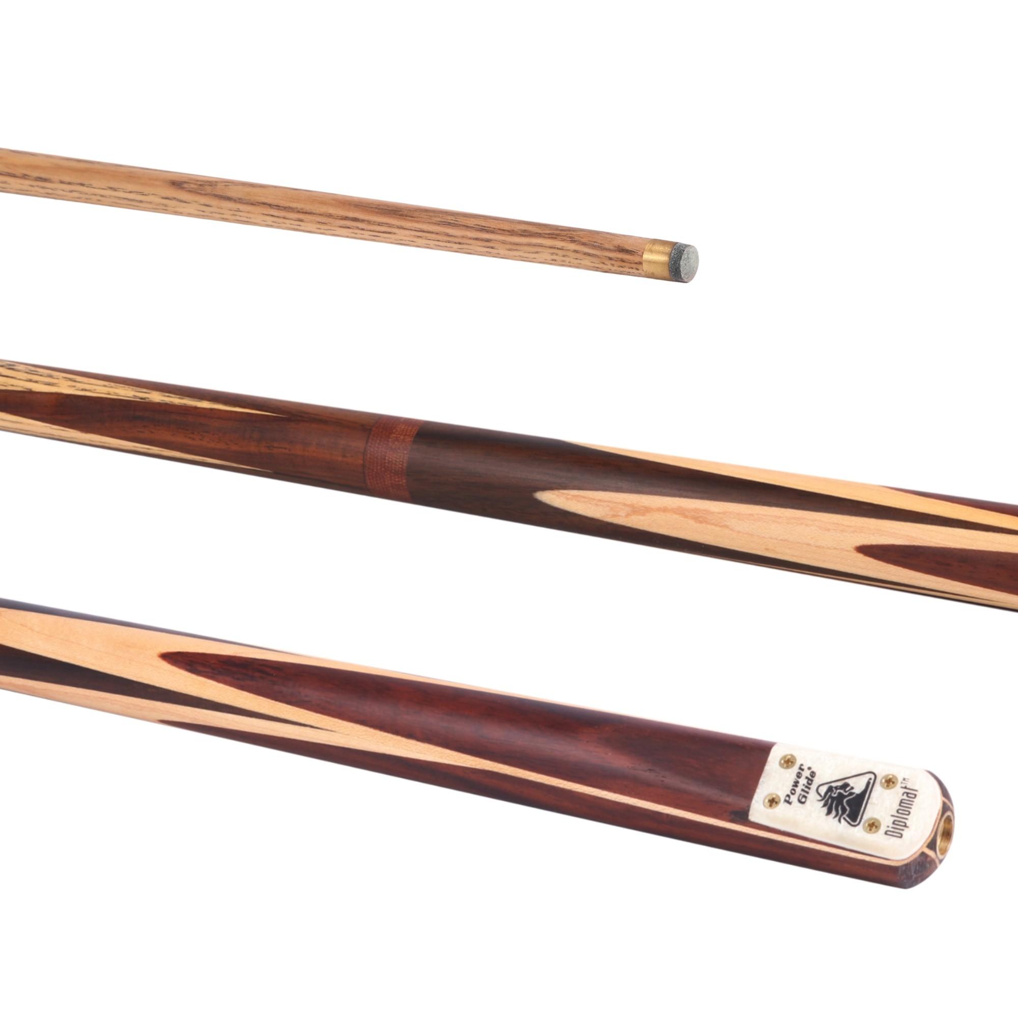 Diplomat Snooker Cue 3/4 Split 9.5mm Tip