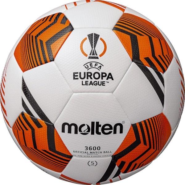 UEFA EUROPA LEAGUE OFFICIAL REPLICA SIZE 5 FOOTBALL 3600 - 21/22
