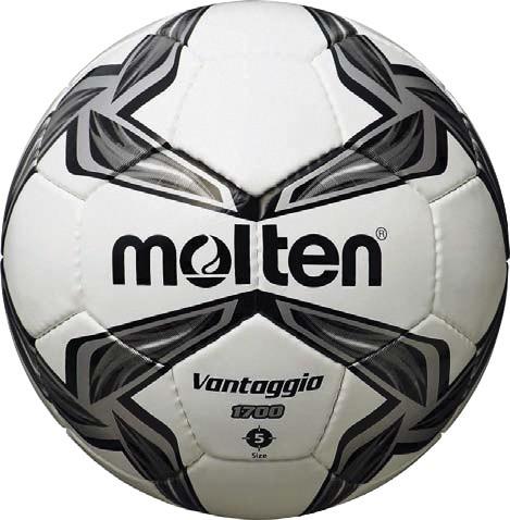 Black/White PVC Leather Football