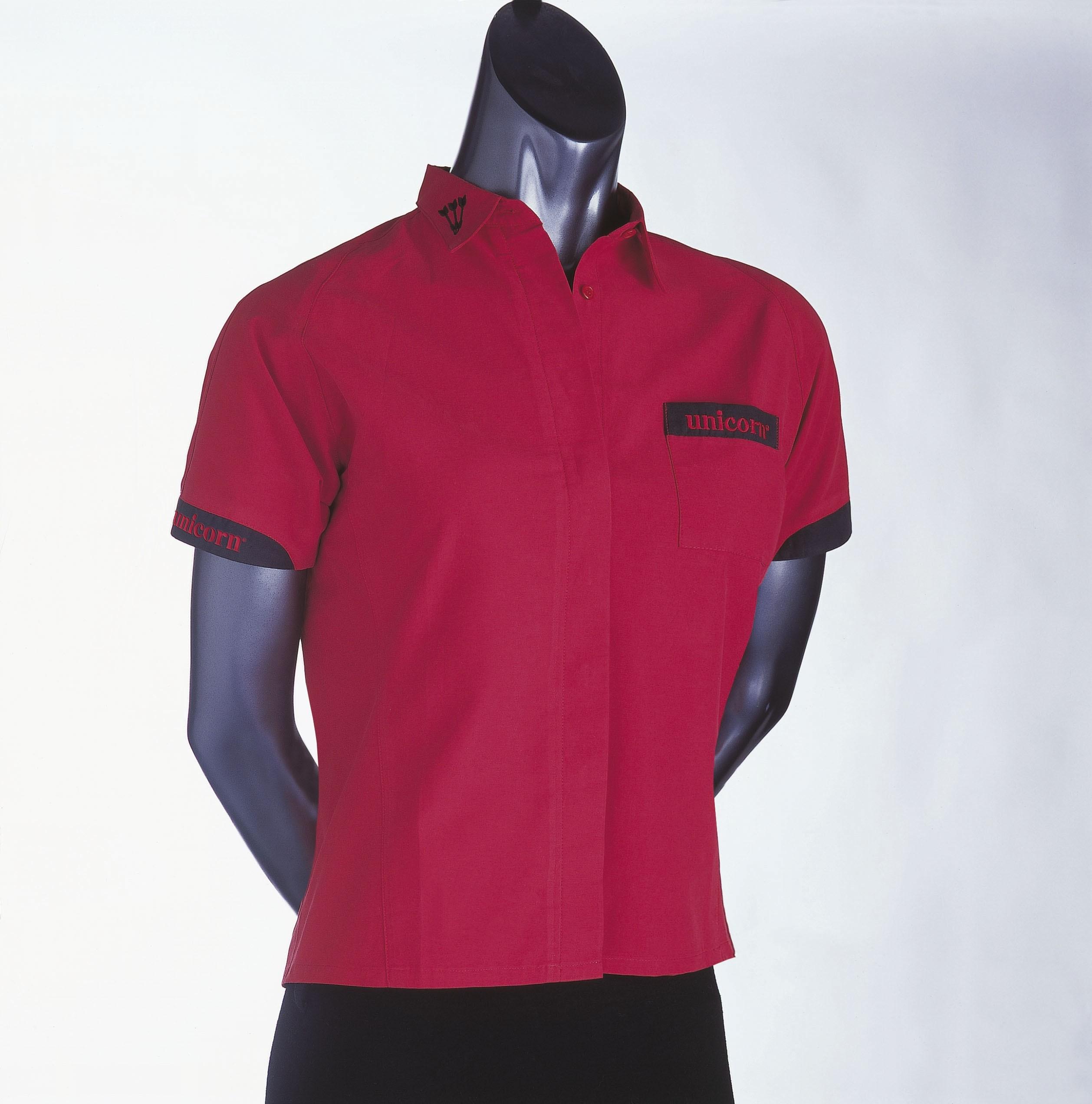 Teknik Ladies Dart Shirt Red - SAVE £24!