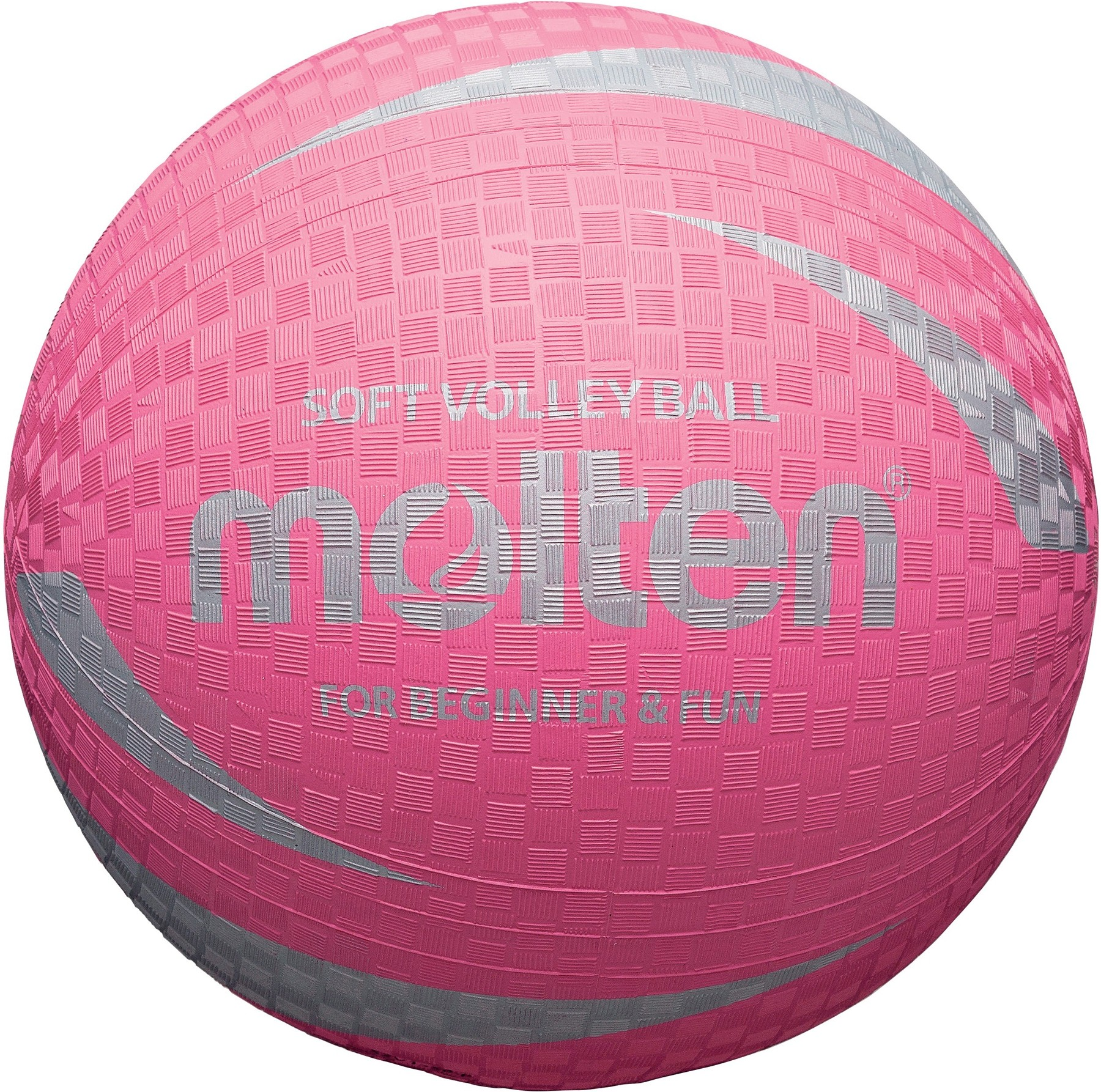 Pink Rubber Volleyball