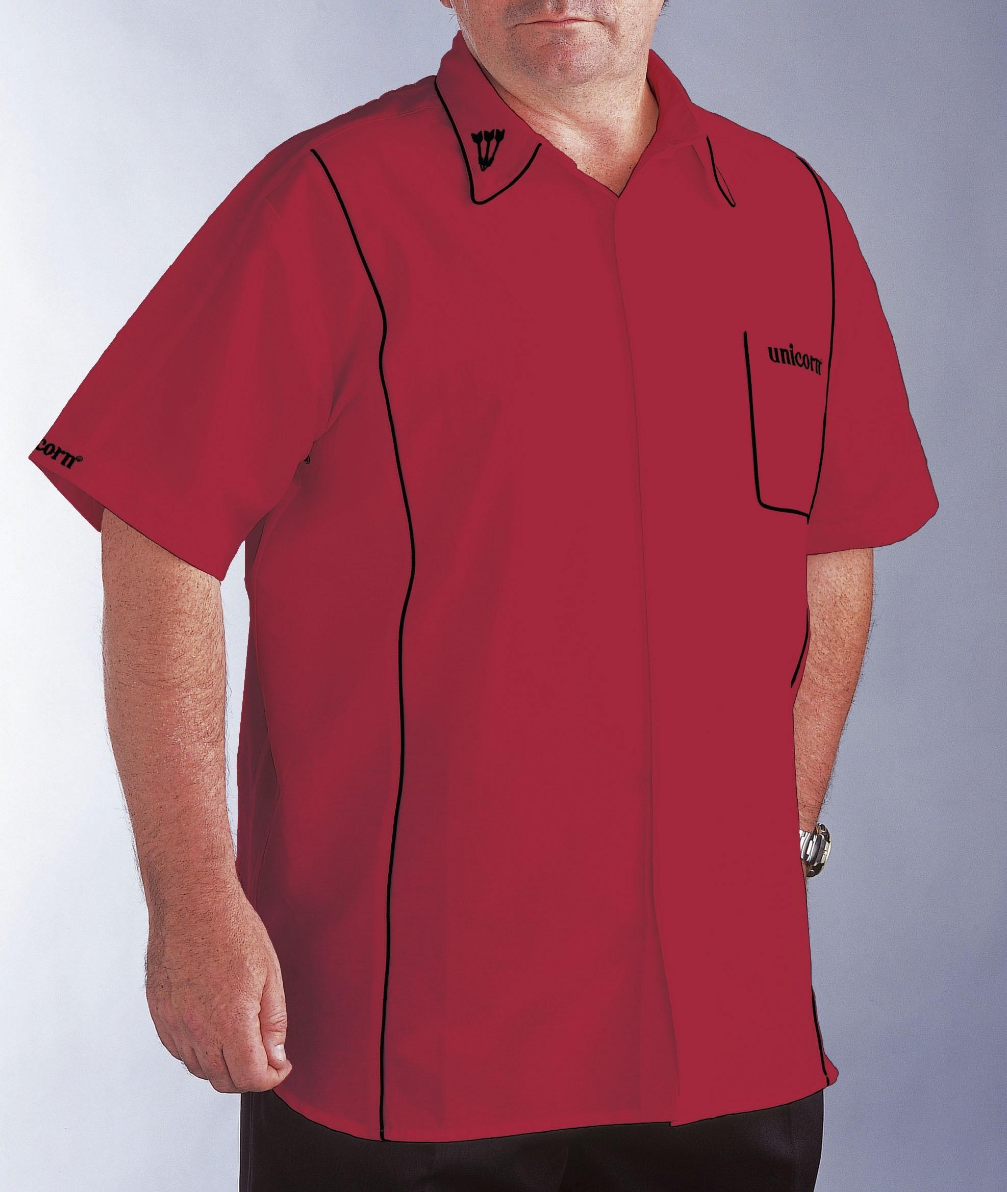 Teknik Dart Shirt Mens Red/Black - SAVE £24!