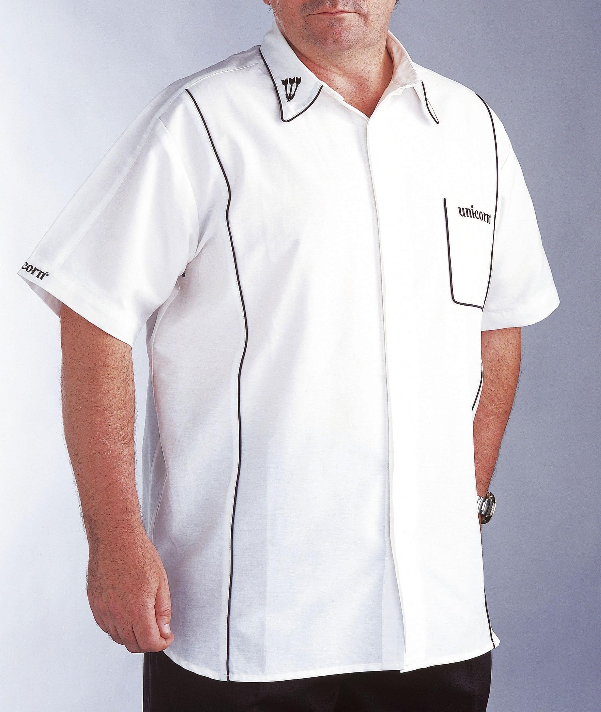 Teknik Mens Dart Shirt White/Black - SAVE £24!