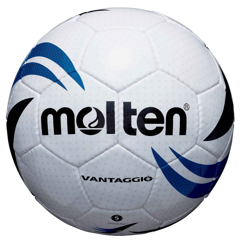 School/Club level match football - Size 4 White/Blue