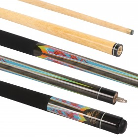 Psychedelic 57 inch Pool Cue 10mm Tip
