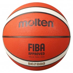 BG2000 Basketball 12 Panel Rubber (Indoor & Outdoor)