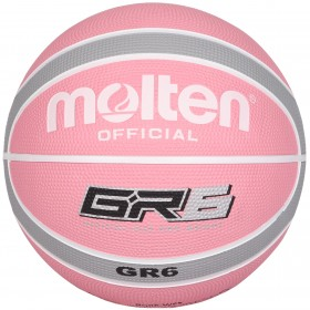 BGR Rubber Basketball - Size 6