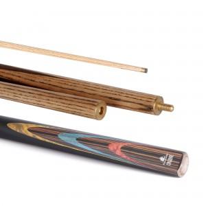 Calibre Snooker Cue 50/50 Split 10mm Tip