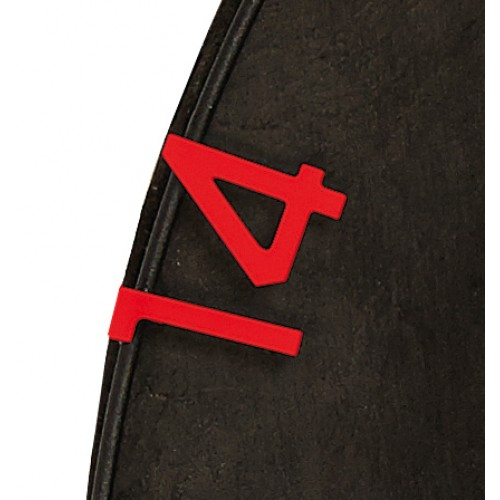 Eclipse HD2 - Replacement Numbers Red