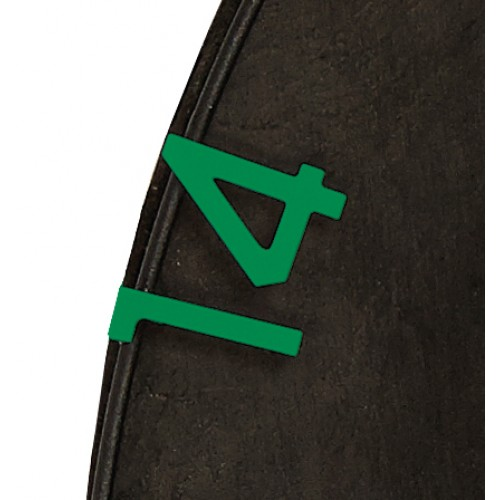 Eclipse HD2 - Replacement Numbers Green