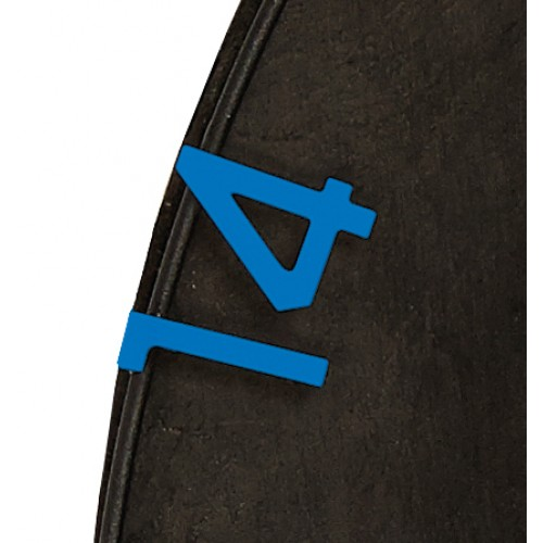 Eclipse HD2 - Replacement Numbers Blue