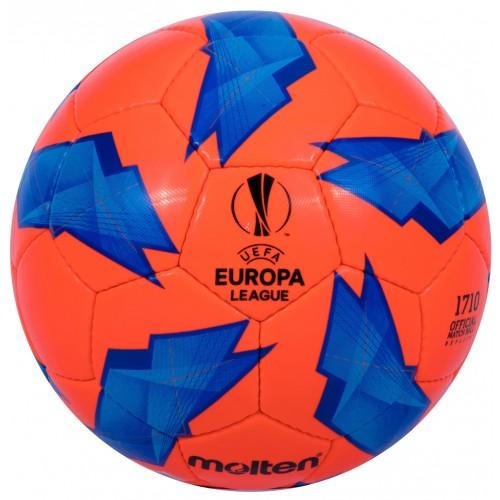 Official Match ball Replica of the UEFA Europa League - 1710 Model Orange/Blue