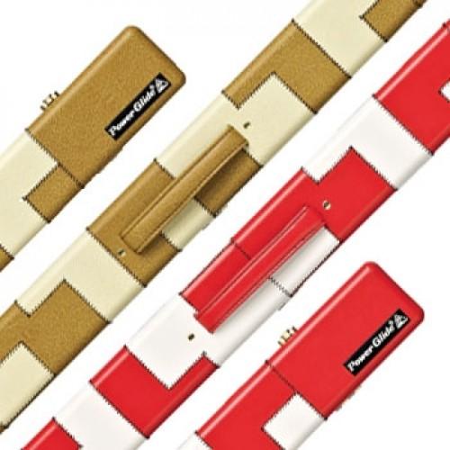 PVC Patchwork 2-Piece Cue Case
