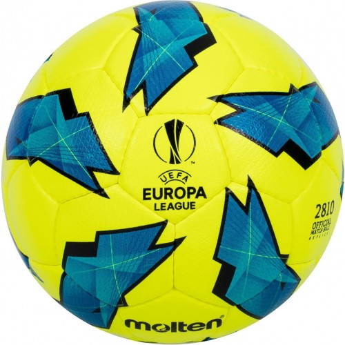 Official Match ball Replica of the UEFA Europa League - 2810 Model Yellow/Blue F5U2810-G18Y  F4U2810-G18Y  F3U2810-G18Y Main