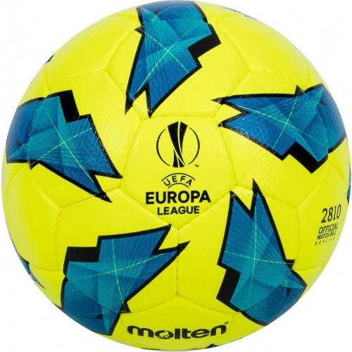Official Match ball Replica of the UEFA Europa League - 2810 Model Yellow/Blue F5U2810-G18Y  F4U2810-G18Y  F3U2810-G18Y Main