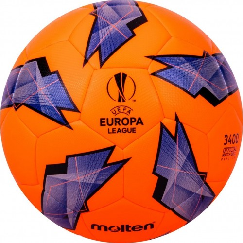Official Match ball Replica of the UEFA Europa League - 3400 Model Orange/Purple F5U3400-G18O  F4U3400-G18O  F3U3400-G18O MAIN