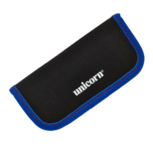 Midi Velcro Wallet - Black/Blue