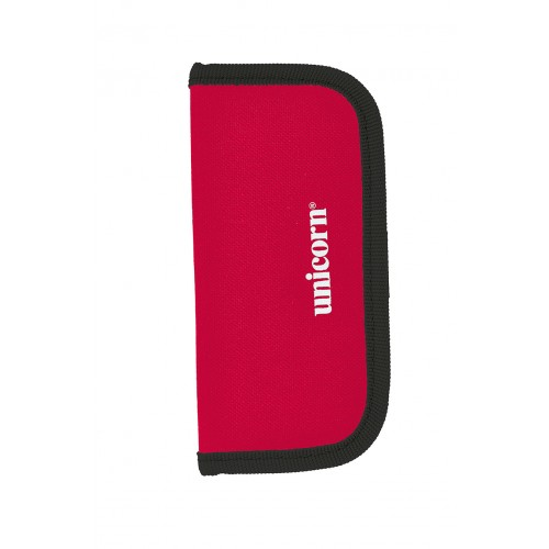 Midi Velcro Wallet - Red/Black