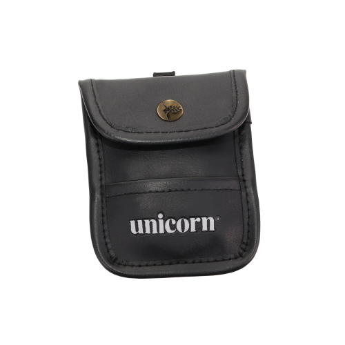 Accessory Pouch - Black Leather