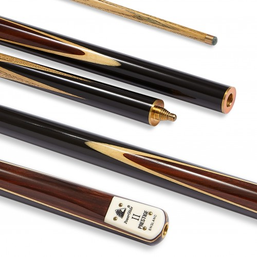 Prestige II Snooker Cue 3/4 Split 9.5mm Tip