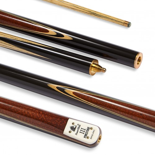Prestige III Snooker Cue 3/4 Joint 9.5mm Tip