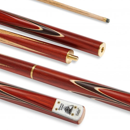 Kudos English 3 Piece Pool Cue 8.5mm Tip