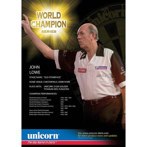 Poster - John Lowe World Champion