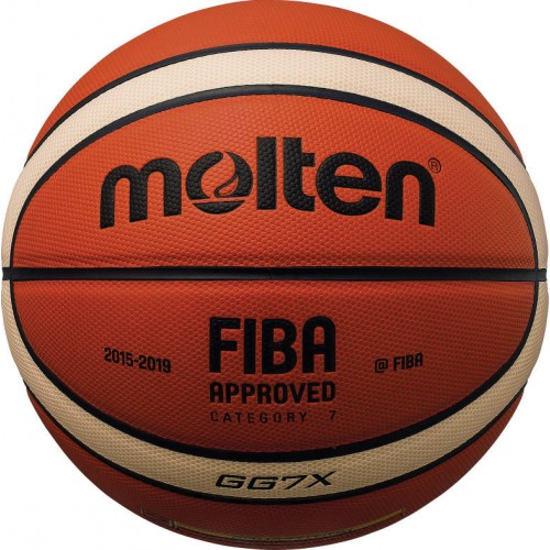 BGGX FIBA Approved Synthetic Leather Cushioned Basketball
