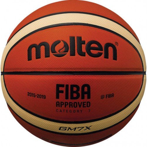 BGMX FIBA Approved PU Leather Basketball
