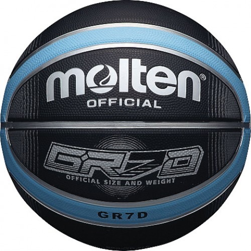 Deep Channel Blue / Black Basketball